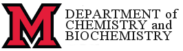 Department of Chemistry and Biochemistry